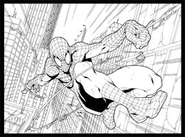 Spiderman - Inking by ChekydotStudio