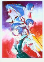 Ayanami Rei-Poster Illust by zpolice