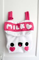 Milk Backpack by CosmiCosmos