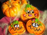 Happy Pumpkins by xenacee