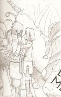 Sasuke and Sakura stuck in Wonderland by maybelle9681