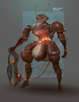 Insect Army Trooper by Niconoff