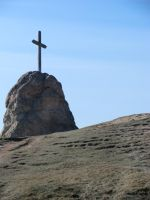 Cross on the hill by andiwriter