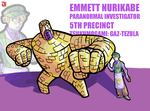OC: Emmett Nurikabe by hiddenpowerice
