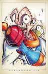 Earthworm Jim Suave by RobDuenas
