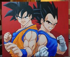 Dragonball Z Duo by The-Dreaming-Dragon