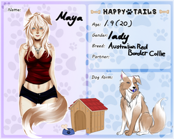 Happy tails : Maya by kuroneko-shi