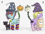 (Closed) halloween poni tailmouths by eecoli