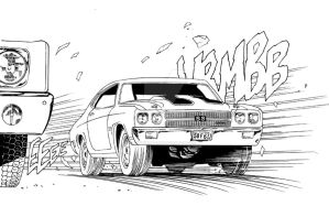 Chevrolet Chevelle SS 1970 by Morhain-Stef