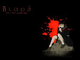 Blood Last Vampire Wallpaper by Proxy170