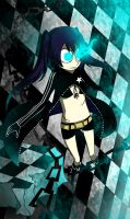 scetch black rock shooter by ren-danny