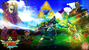 Skyward Sword wallpaper v2 by reptiletc