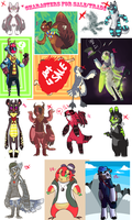 Characters For Sale/Trade by HauntedHomo