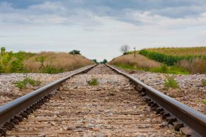 Railroad Tracks by ktryon