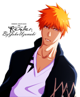 Render Ichigo [Bleach] #2 by ByGokuUzumaki