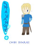 Stavanger Chibi Diaries Cover by IronMeow