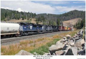 MRL 4314, 4310, 4313 + 4305 by hunter1828