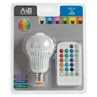 Multicolour LED Light Bulb! by ryanthescooterguy