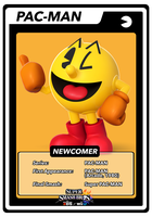 SSB4 Cards Pac-Man by GameAndWill