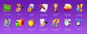 icon set for lawyer website by BraveDesign