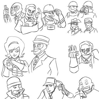 TF2 doodlez XD by cutekakashi