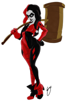 Harley Quinn by Acerbic450