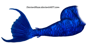 Mermaid Tail 10 (Blue) by DeviantRoze