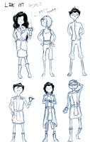 Legend  of Korra AT Style by MyHandIsADolphine