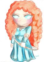 Merida (Brave) by aoi-milk