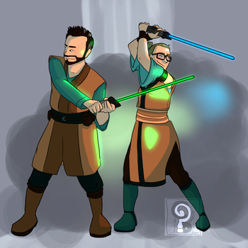 Team Star Wars by curiousdoodler