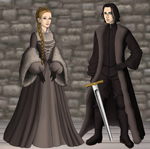 Jon and Val by alcanis-ivennil