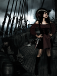 Taking Over A Pirate Ship by MishtaRingwaltz