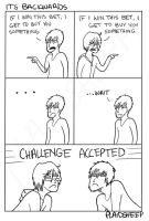 It's Backwards by PlaidSheep