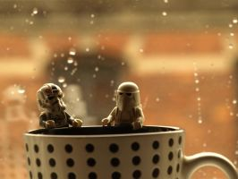 Snow Troopers - Coffee Time by mckatalyn