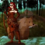 Yrsa and Valdar by FatVonD