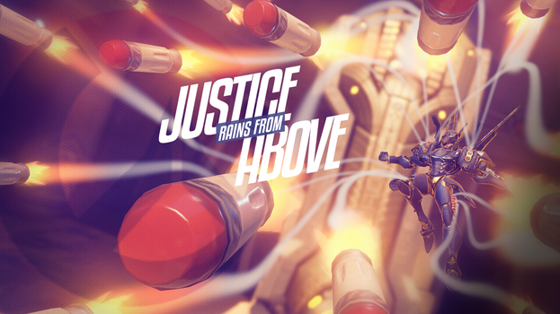 Overwatch - Pharah Justice Wallpaper by PT-Desu