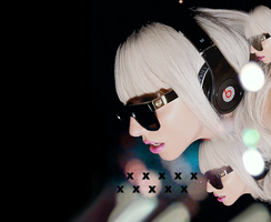 Lady GaGa project xD by Kiczo-wata