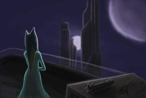 Ahsoka Tano - Late At Night by SubSuid