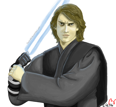 Anakin Skywalker by terin814