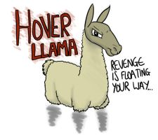 Hover Llama by timsplosion