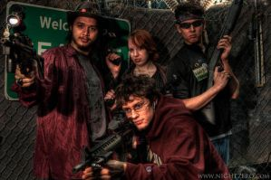 zombie huntin time by caz-divad