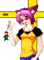Katie in Color by ZeroExile