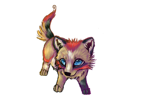 Anethra Chibi by wolffoxin