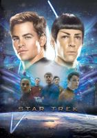 STAR TREK INTERNATIONAL POSTER by tanman1