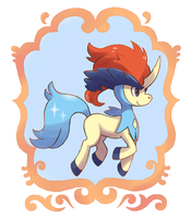 Pokemon:Keldeo by Nillratn