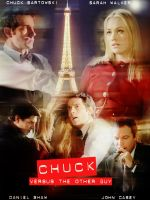 Chuck vs. the Other Guy Poster by freaky-x