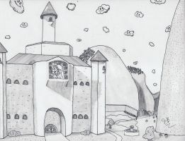 OPSA: Mushroom Kingdom: Peach's Castle by specter24