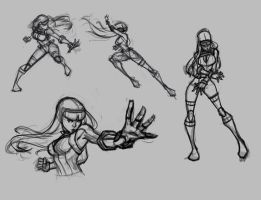 cammy sketches for warming up by Gubrutsky2011