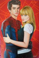 Peter and Gwen painting - 2013 by andrecamilo20