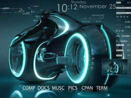 Tron Screen by JLASuperman